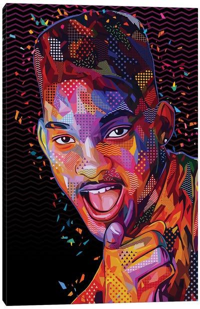 The Fresh Prince Pop Canvas Art Print