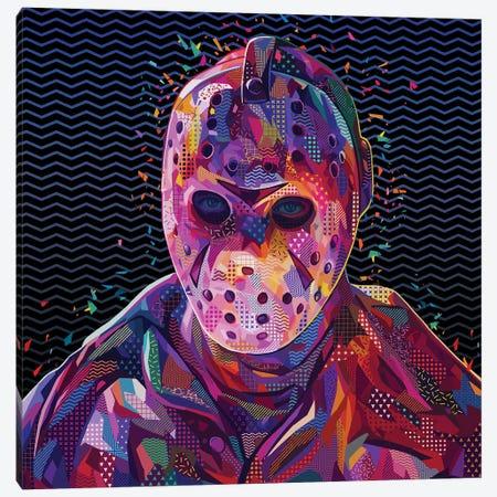 Jason Pop - Friday The 13th Canvas Print #APA72} by Alessandro Pautasso Canvas Art