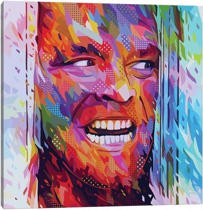 Jack Torrance Pop Canvas Art Print