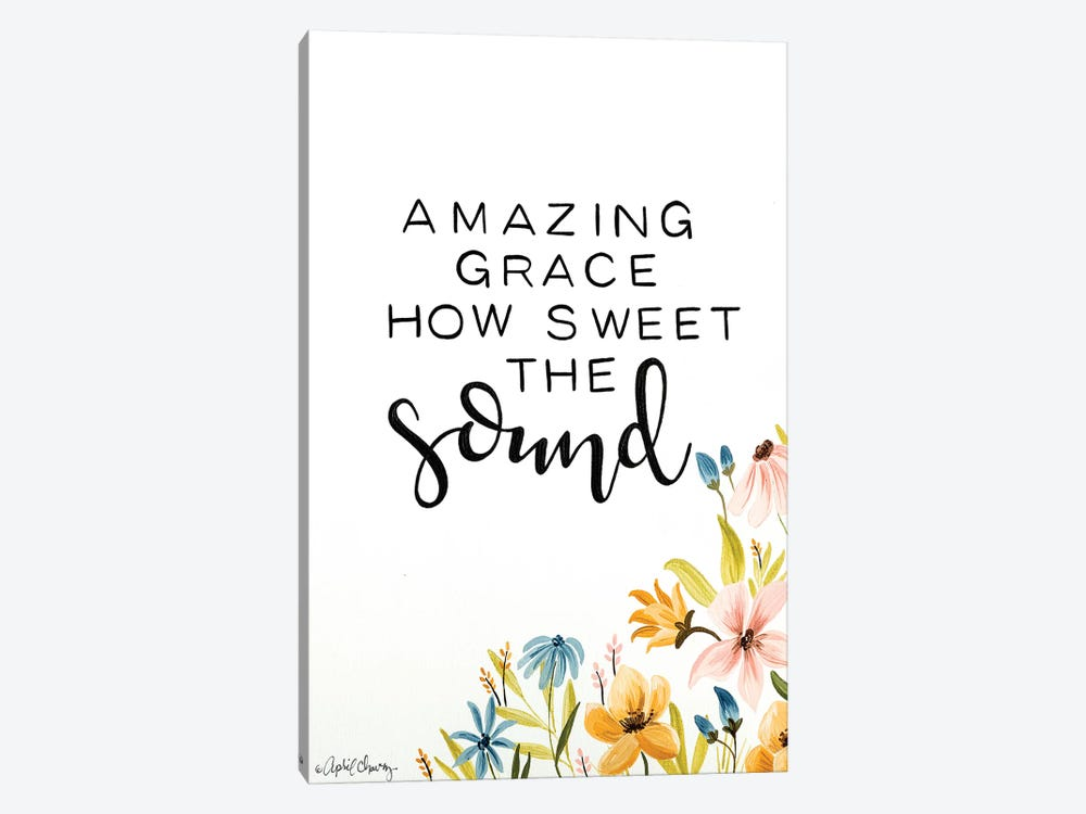 Amazing Grace  1-piece Canvas Art