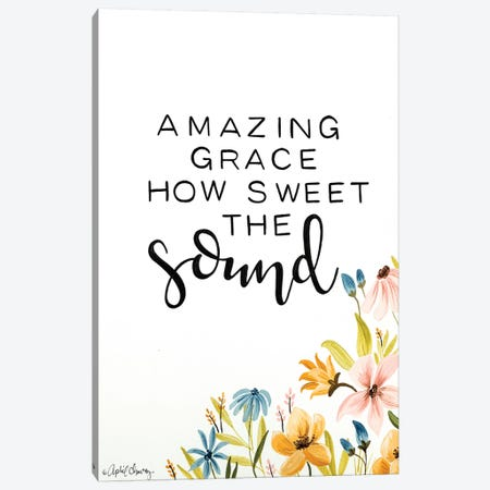 Amazing Grace  Canvas Print #APC15} by April Chavez Canvas Art Print