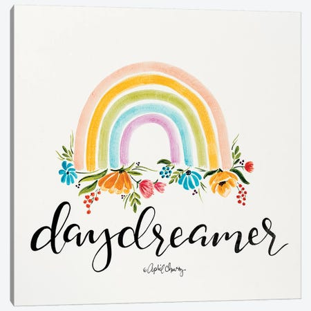 Daydreamer Rainbow   Canvas Print #APC16} by April Chavez Canvas Print