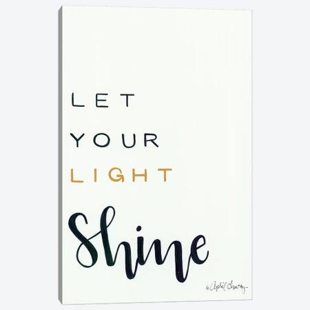 Let Your Light Shine Canvas Print #APC19} by April Chavez Canvas Art