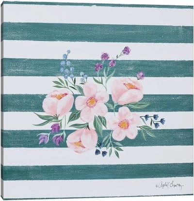 Among the Flowers I Canvas Art Print