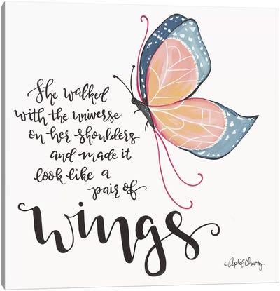 Wings Canvas Art Print