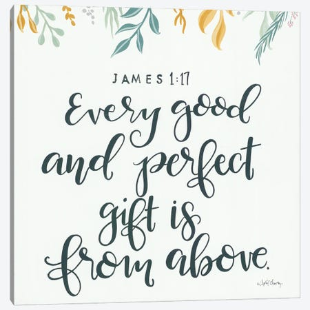 Every Good and Perfect Gift    Canvas Print #APC32} by April Chavez Canvas Artwork