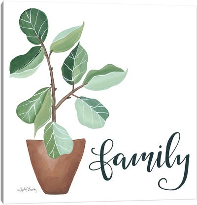 Plant Family     Canvas Art Print