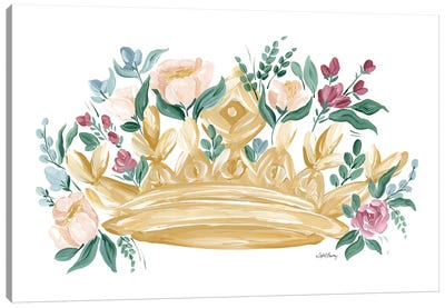 Flower Crown I Canvas Art Print