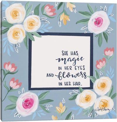 Magic in Her Eyes Canvas Art Print