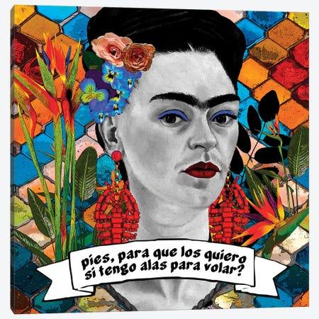 Friducha I Canvas Print #APH103} by Ana Paula Hoppe Canvas Wall Art