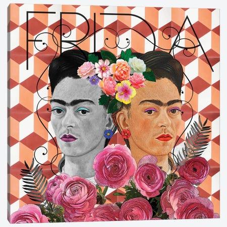 Friducha IV Canvas Print #APH106} by Ana Paula Hoppe Canvas Print
