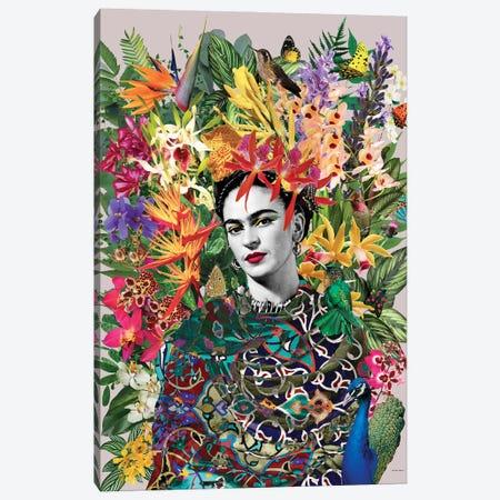 Gipsy Frida Canvas Print #APH107} by Ana Paula Hoppe Art Print