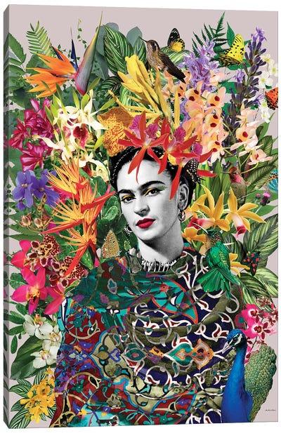 Gipsy Frida Canvas Art Print