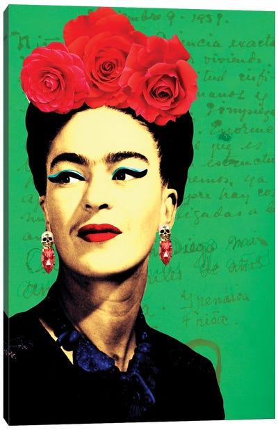Frida Passion Ii Canvas Art Print