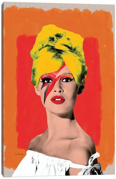 Brigitte Bowie Canvas Art Print