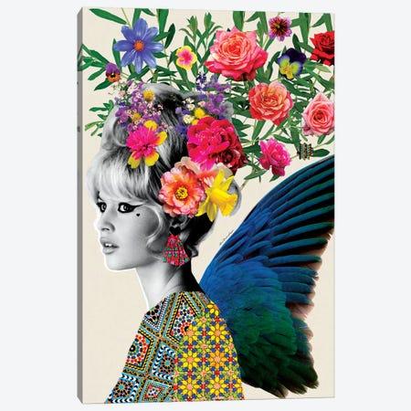 Brigitte Flowers Canvas Print #APH12} by Ana Paula Hoppe Canvas Art Print