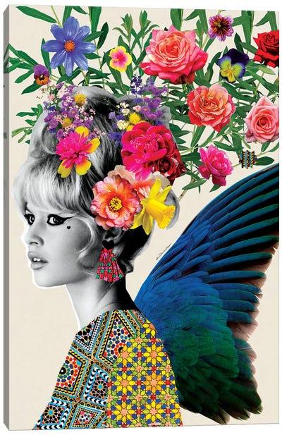 Brigitte Flowers Canvas Art Print