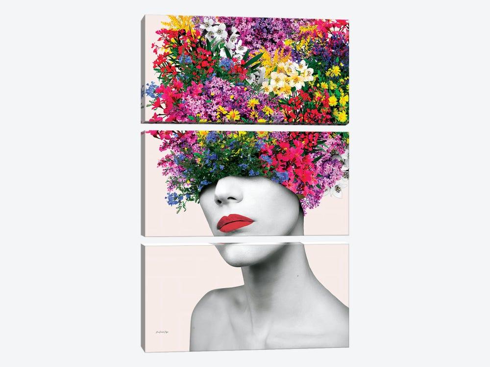 Broadway Bouquet by Ana Paula Hoppe 3-piece Canvas Print