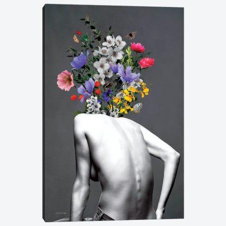 Brooklyn Grey Canvas Print #APH14} by Ana Paula Hoppe Canvas Wall Art