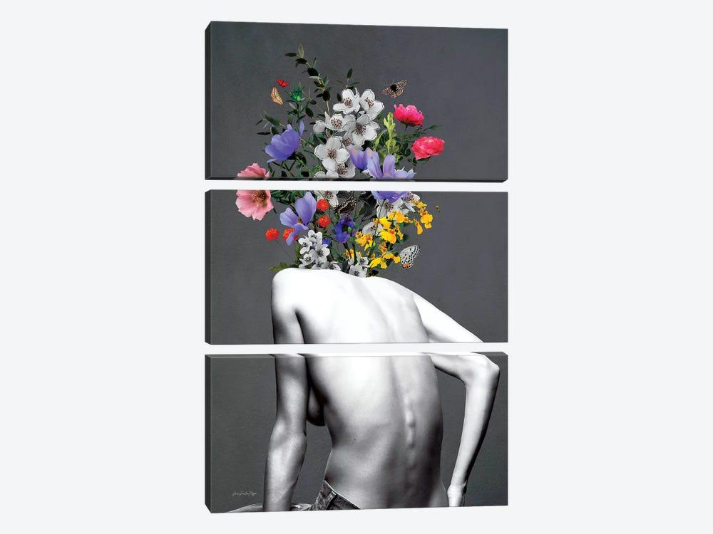 Brooklyn Grey by Ana Paula Hoppe 3-piece Canvas Art