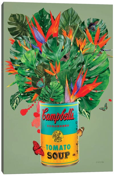 Campbell´s Tropical Canvas Art Print