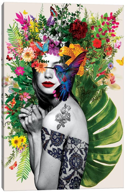 Chelsea Flowers Canvas Art Print