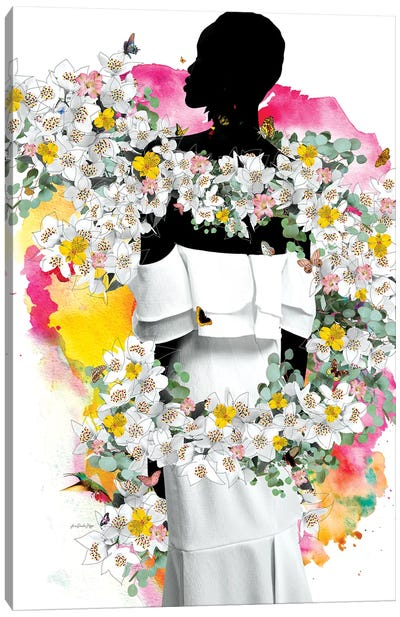 Cora Flowers Canvas Art Print