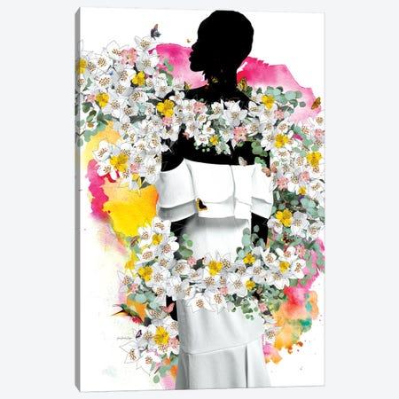 Cora Flowers Canvas Print #APH23} by Ana Paula Hoppe Canvas Wall Art