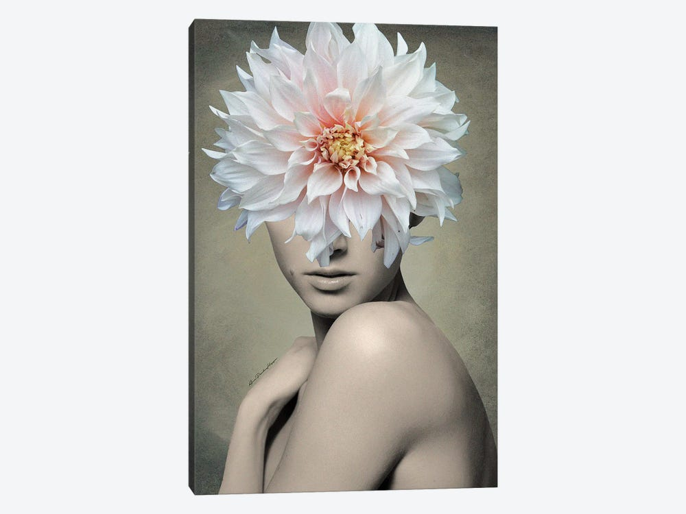 Dahlia 1-piece Canvas Art Print