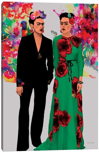 Frida Kahlo Lovers Canvas Art Print