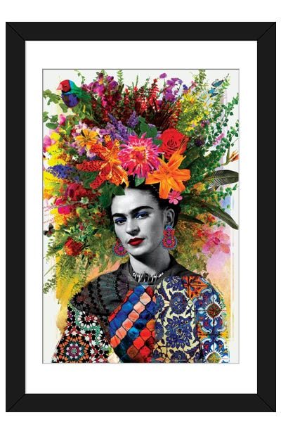 Gitana Frida Framed Art Print