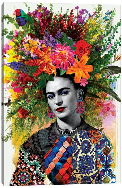 Gitana Frida Canvas Art Print