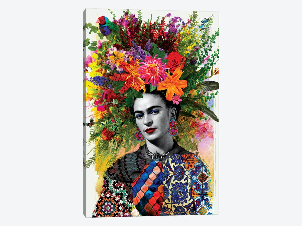 Gitana Frida by Ana Paula Hoppe 1-piece Canvas Art Print