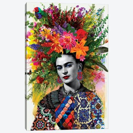 Gitana Frida Canvas Print #APH33} by Ana Paula Hoppe Art Print