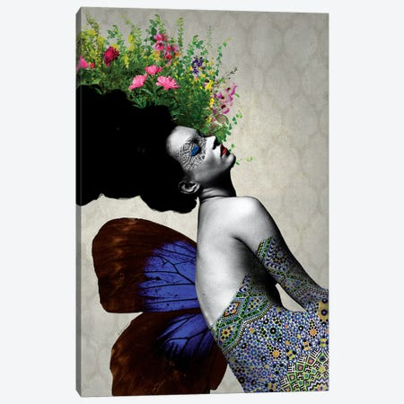 Kate Flowers Canvas Print #APH36} by Ana Paula Hoppe Canvas Artwork