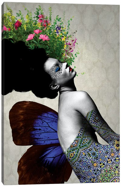 Kate Flowers Canvas Art Print
