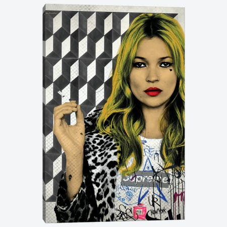 Kate Street Art Canvas Print #APH38} by Ana Paula Hoppe Art Print