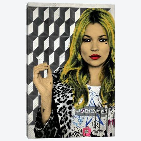 Kate Street Art Canvas Print #APH38} by Ana Paula Hoppe Art Print