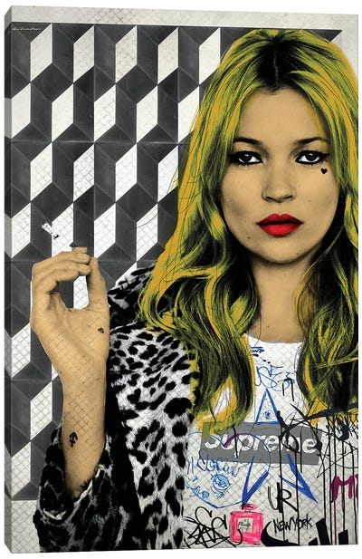 Kate Street Art Canvas Art Print