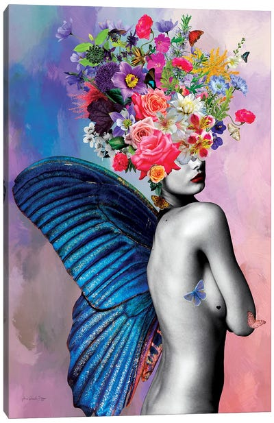Amora Flowers Canvas Art Print
