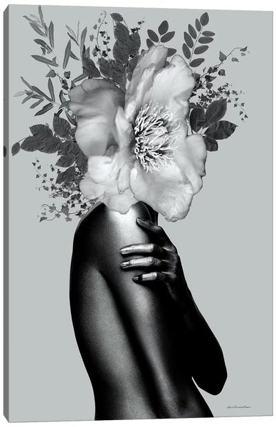 Lady Grey Canvas Art Print