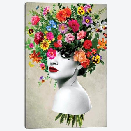 Love Yourself Canvas Print #APH41} by Ana Paula Hoppe Canvas Art