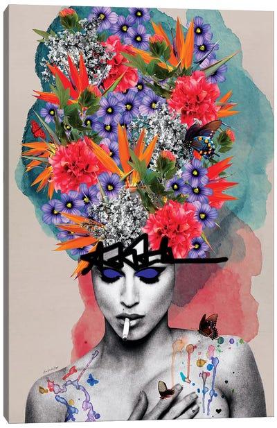 M De Madonna Canvas Art Print