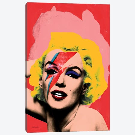 Marilyn Bowie Canvas Print #APH44} by Ana Paula Hoppe Art Print