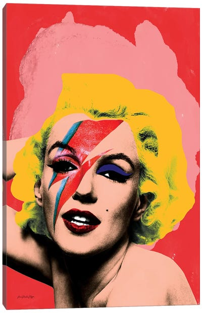 Marilyn Bowie Canvas Art Print