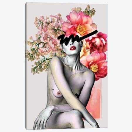 Peony Canvas Print #APH53} by Ana Paula Hoppe Canvas Print