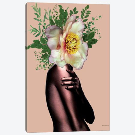 Rosé Gold Canvas Print #APH56} by Ana Paula Hoppe Canvas Art
