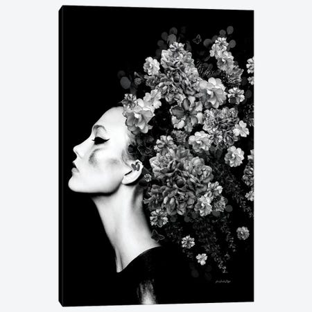 Anthropologie Black And White Canvas Print #APH5} by Ana Paula Hoppe Canvas Print