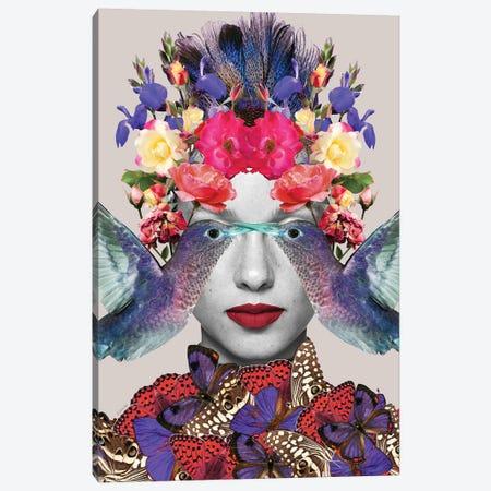 Billie Sings Canvas Print #APH61} by Ana Paula Hoppe Canvas Wall Art