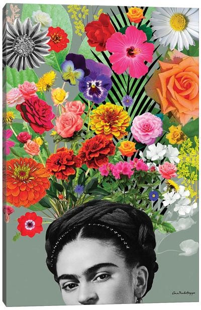Frida & Flor Canvas Art Print
